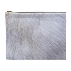 RABBIT FUR Cosmetic Bag (XL)