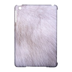 RABBIT FUR Apple iPad Mini Hardshell Case (Compatible with Smart Cover)