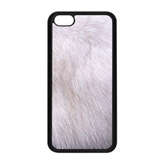 RABBIT FUR Apple iPhone 5C Seamless Case (Black)