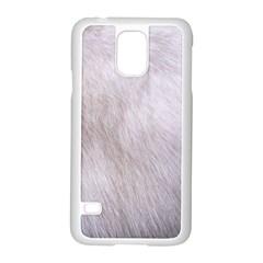 RABBIT FUR Samsung Galaxy S5 Case (White)