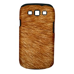 LIGHT BROWN FUR Samsung Galaxy S III Classic Hardshell Case (PC+Silicone)