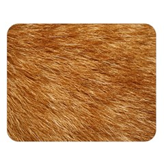 Light Brown Fur Double Sided Flano Blanket (large)