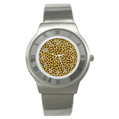 LEOPARD FUR Stainless Steel Watches