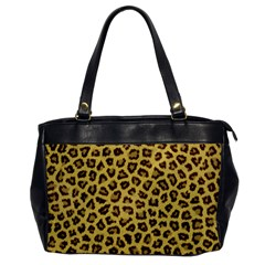 LEOPARD FUR Office Handbags