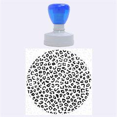 Leopard Fur Rubber Round Stamps (large)