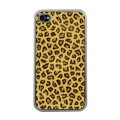 Leopard Fur Apple Iphone 4 Case (clear)