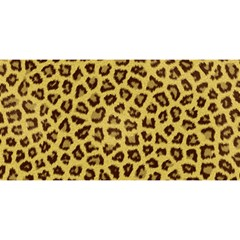 Leopard Fur You Are Invited 3d Greeting Card (8x4)