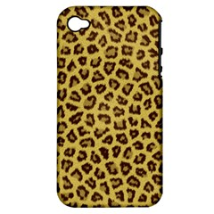 LEOPARD FUR Apple iPhone 4/4S Hardshell Case (PC+Silicone)