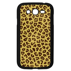 LEOPARD FUR Samsung Galaxy Grand DUOS I9082 Case (Black)