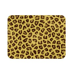 LEOPARD FUR Double Sided Flano Blanket (Mini)