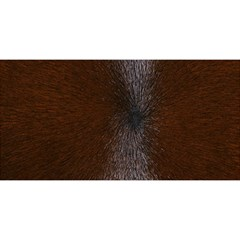 HORSE FUR YOU ARE INVITED 3D Greeting Card (8x4)