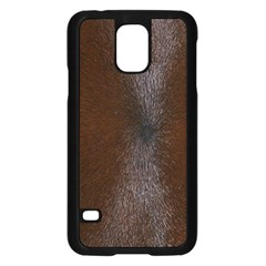 HORSE FUR Samsung Galaxy S5 Case (Black)