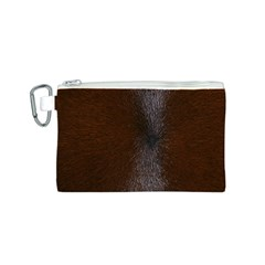 HORSE FUR Canvas Cosmetic Bag (S)
