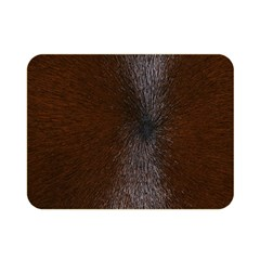HORSE FUR Double Sided Flano Blanket (Mini)