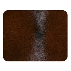 HORSE FUR Double Sided Flano Blanket (Large)