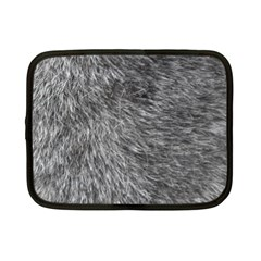 GREY WOLF FUR Netbook Case (Small)