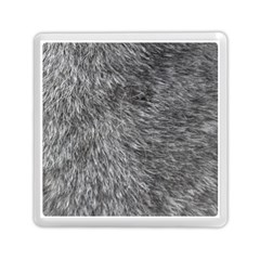 GREY WOLF FUR Memory Card Reader (Square)