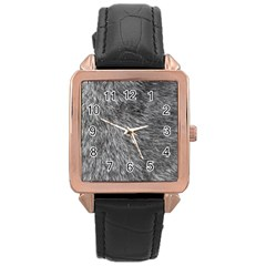 GREY WOLF FUR Rose Gold Watches