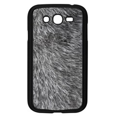 GREY WOLF FUR Samsung Galaxy Grand DUOS I9082 Case (Black)