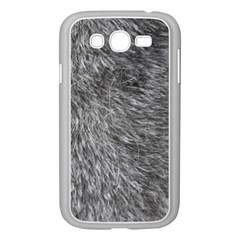 GREY WOLF FUR Samsung Galaxy Grand DUOS I9082 Case (White)