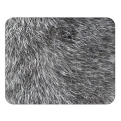 GREY WOLF FUR Double Sided Flano Blanket (Large)