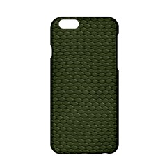 GREEN REPTILE SKIN Apple iPhone 6/6S Hardshell Case