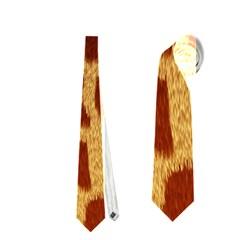 Giraffe Hide Neckties (one Side)