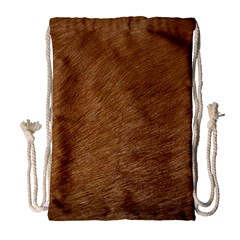 Dog Fur Drawstring Bag (large)