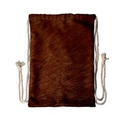 Dog Fur Drawstring Bag (small)