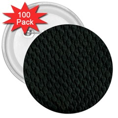 DARK GREEN SCALES 3  Buttons (100 pack)