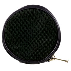DARK GREEN SCALES Mini Makeup Bags