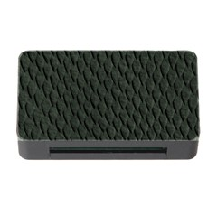 DARK GREEN SCALES Memory Card Reader with CF