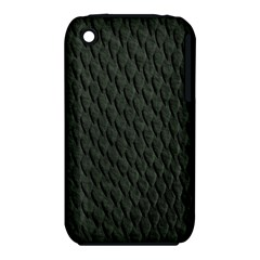 DARK GREEN SCALES Apple iPhone 3G/3GS Hardshell Case (PC+Silicone)