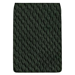 DARK GREEN SCALES Flap Covers (S)