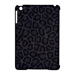 BLACK LEOPARD PRINT Apple iPad Mini Hardshell Case (Compatible with Smart Cover)