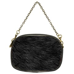 Black Cat Fur Chain Purses (one Side)