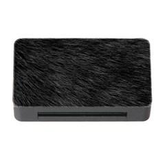 Black Cat Fur Memory Card Reader With Cf
