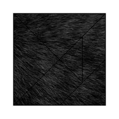 BLACK CAT FUR Acrylic Tangram Puzzle (6  x 6 )