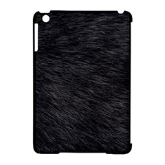 BLACK CAT FUR Apple iPad Mini Hardshell Case (Compatible with Smart Cover)