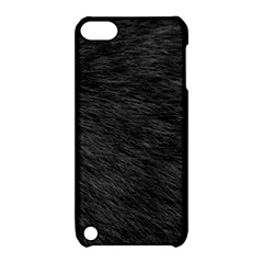 BLACK CAT FUR Apple iPod Touch 5 Hardshell Case with Stand