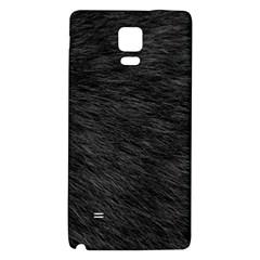 BLACK CAT FUR Galaxy Note 4 Back Case