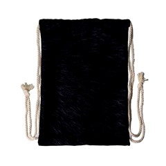 BLACK CAT FUR Drawstring Bag (Small)