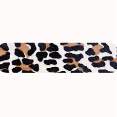 Black And Brown Leopard Large Bar Mats