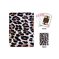 BLACK AND BROWN LEOPARD Playing Cards (Mini)