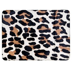 BLACK AND BROWN LEOPARD Samsung Galaxy Tab 7  P1000 Flip Case