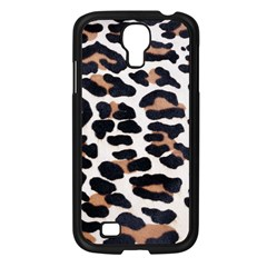 BLACK AND BROWN LEOPARD Samsung Galaxy S4 I9500/ I9505 Case (Black)