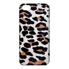 BLACK AND BROWN LEOPARD Apple iPhone 5C Hardshell Case