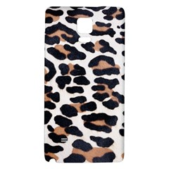 BLACK AND BROWN LEOPARD Galaxy Note 4 Back Case