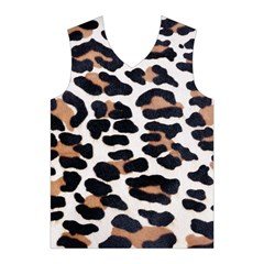 BLACK AND BROWN LEOPARD Men s Basketball Tank Top