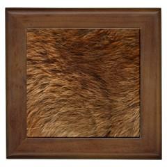 BEAR FUR Framed Tiles